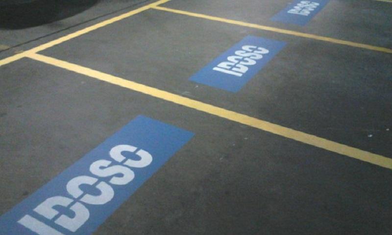 Demarcação de Vagas Em Subsolos e Estacionamentos